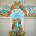 Painting of the Year of the Eucharist by Peter Koenig