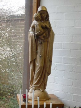 Statue of Our Lady as Madonna
