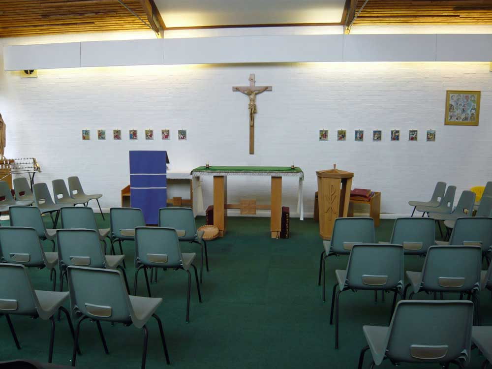 Inside St. Nicholas Church, Burton Latimer