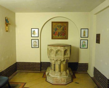 The Font at St. Edward's Church, Kettering