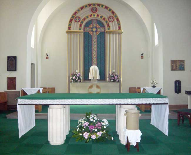 The chancel of St. Edward's church, Kettering