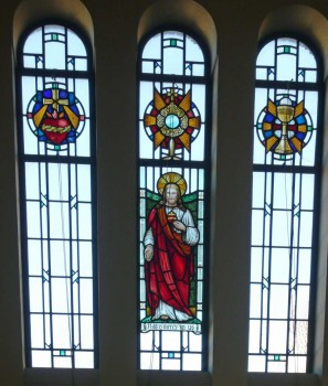 The Sacred Heart Window, St. Edward's Church, Kettering