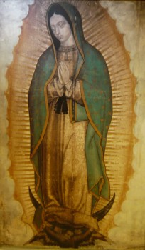 Image of Mary, the Pilgrim Queen