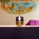 Altar at St. Bernadette's Church, Rothwell