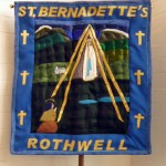 Church Banner of St. Bernadette, Rothwell