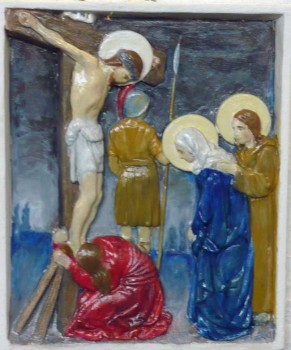 Stations of the Cross, No. 12 Jesus Dies on the Cross at St. Nicholas Owen Church