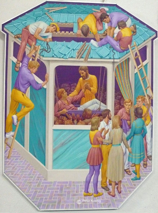 The Paralytic by Peter Koenig