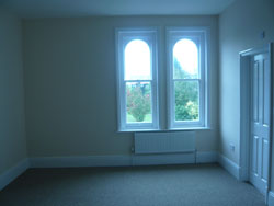 New guest room for visiting priests in St. Edward's Presbytery, 2009