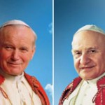 News.va picture of Popes John Paul II and John XXIII for their canonization april 27, 2014