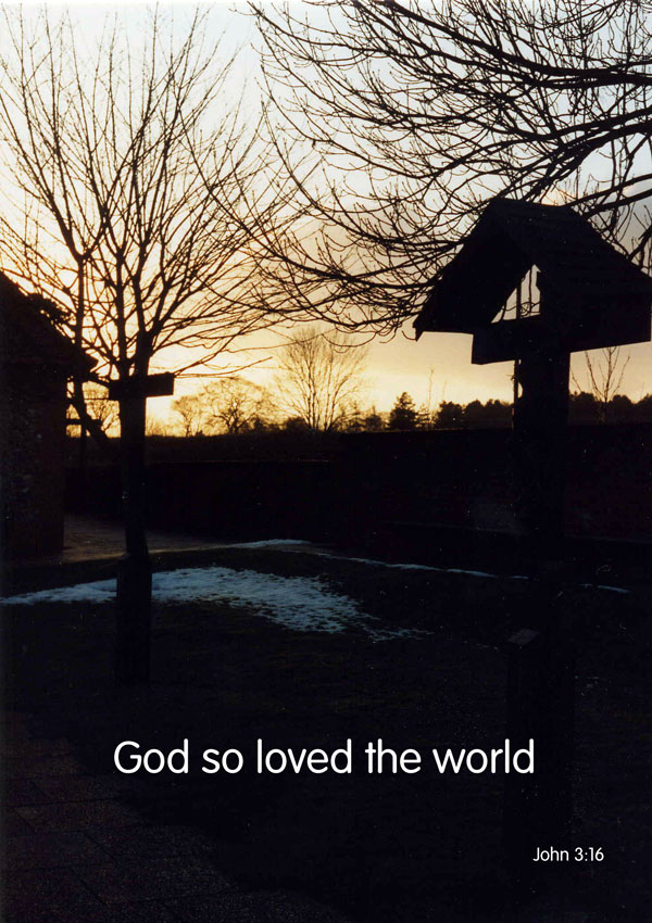 God So Loved the World - Cross at Walsingham