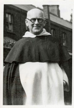 Rev. Fr. Bertrand Pike O.P. (photo dated 1949)