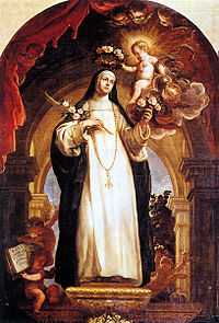 St. Rose of Lima by Claudio Coello