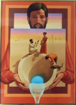 Christ at the Well by Peter Koenig