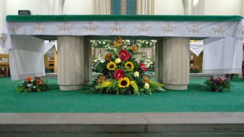 Flower Festival St. Edward's Church, Kettering, July 2017