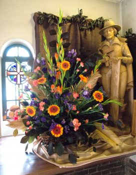 St. Edward's Parish, Kettering Flower Festival July 2017