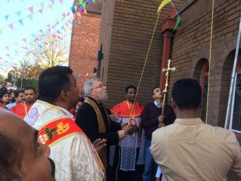 Malayalam Community Celebration of the Feast of Our Lady of the Holy Rosary, October 29th, 2017 at St. Edward's Church, Kettering