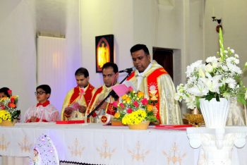 Malayalam Community celebrating the Feast of the Queen of the Holy Rosary at St. Edward's Church, Kettering, October 29th, 2017