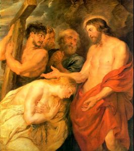 Rubens - Simon of Cyrene carries the cross