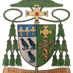 Coat of Arms of Bishop David Oakley of Northampton Diocese
