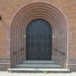 The Door to St. Edward's church, Kettering