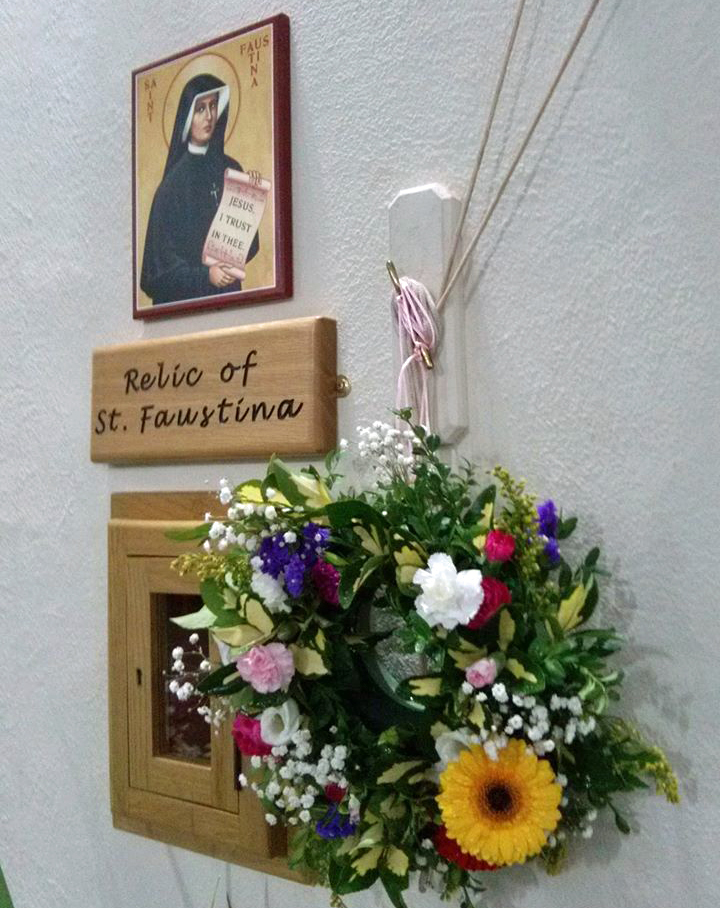 St. Faustina Relic