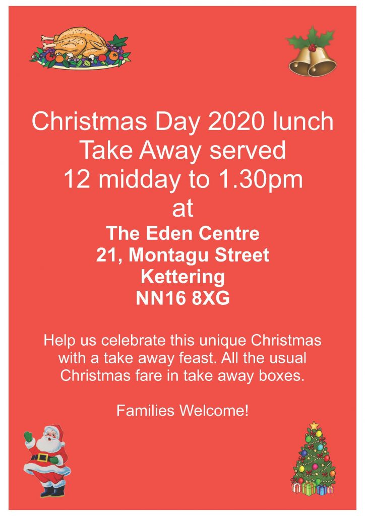 Christmas Day Takeaway 2020
