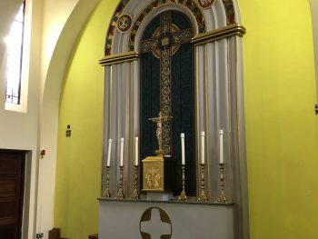 Altar at St. Edward's church Kettering