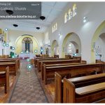 Still from Virtual Tour of St. Edward's church, Kettering