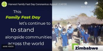 Still from Cafod Family Fast Day 2020 video