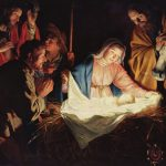 Painting of the nativity